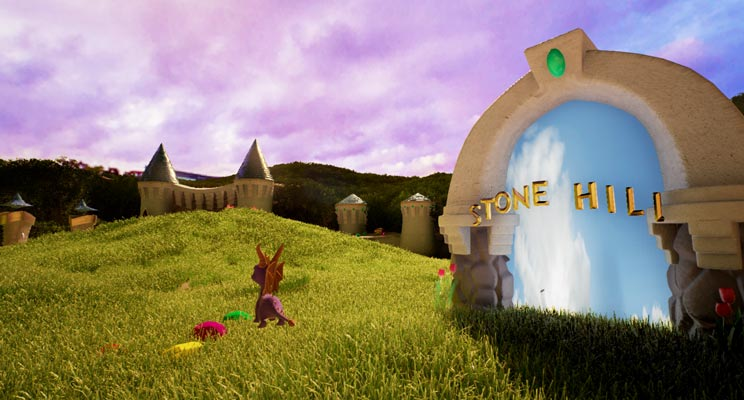 uagna spyro unreal engine