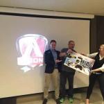 premiazione durante evento aoc