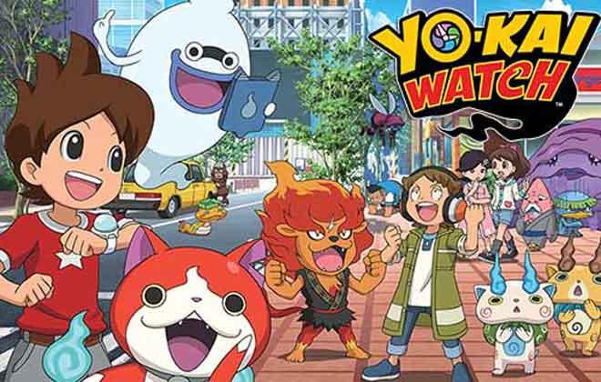 copertina di yo-kai watch