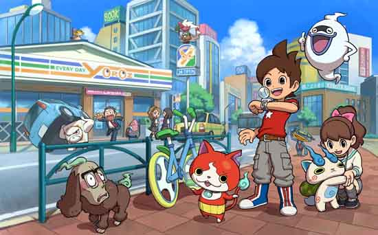 immagine di yo-kai watch
