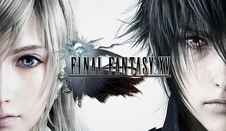 copertina final fantasy xv logo