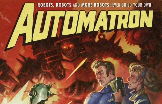 Immagine di copertina del DLC Automatron di Fallout 4