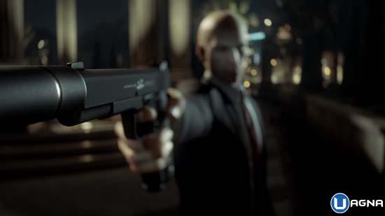 Pistola puntata da Hitman