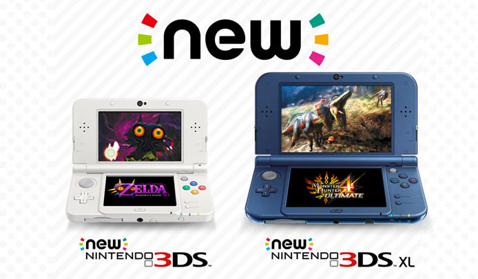 New Nintendo 3DS e New Nintendo 3DS XL