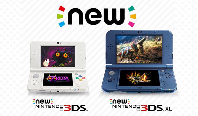New Nintendo 3DS e New Nintendo 3DS XL