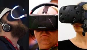 uagna realtà virtuale oculus rift playstation vr