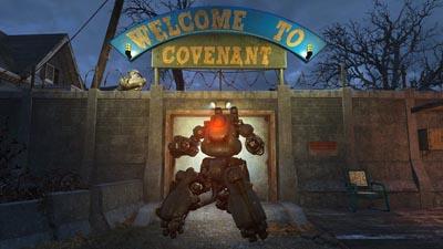 robot presente nel DLC Automatron di Fallout 4