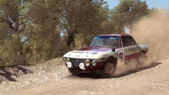 DiRT Rally auto su sterrato asciutto