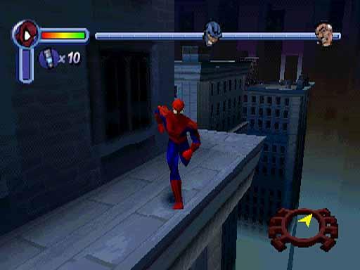 spiderman 2000 ps1