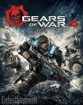 gears of war 4 artwork copertina