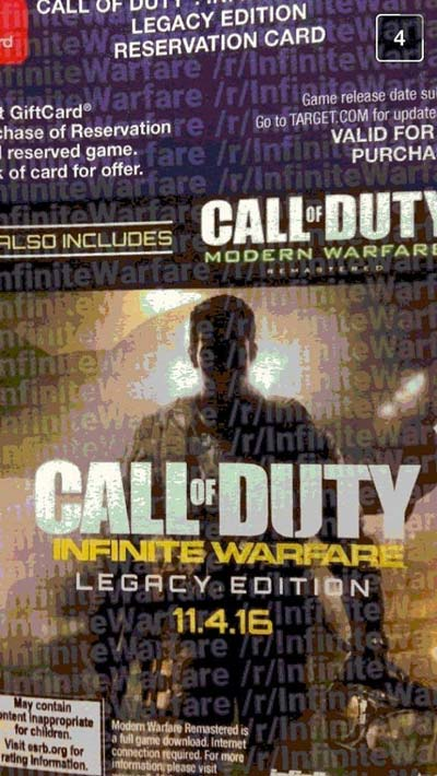 leak infinite warfare call of duty