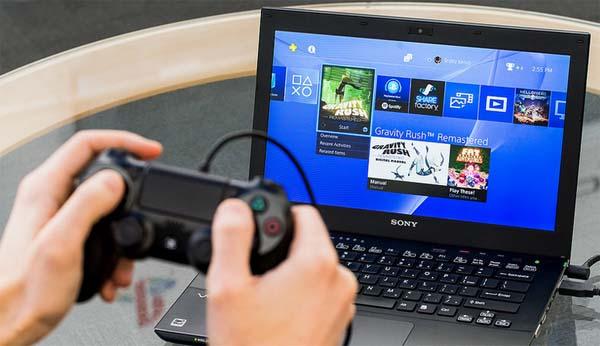 remote play tramite pc