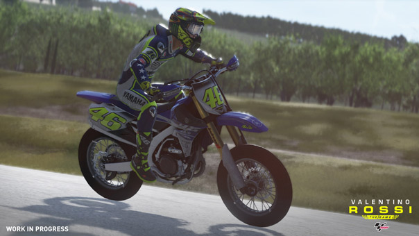 valentino rossi the game moto da cross