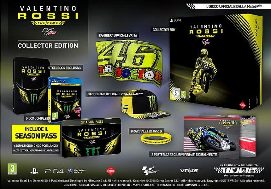 valentino rossi the game collector edition