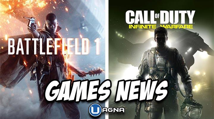 Battlefield 1 Call of Duty Infinite Warfare Games News