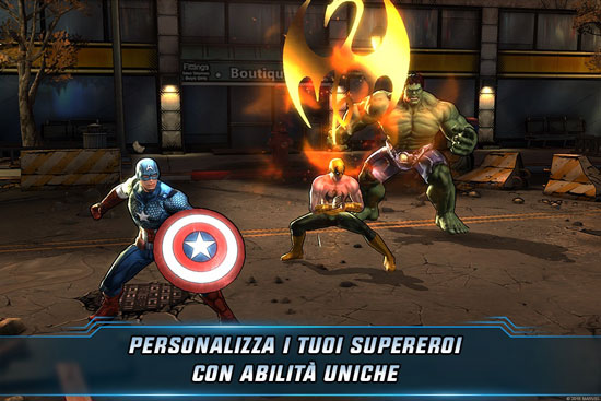 Marvel Avengers Alliance 2 iOS Android