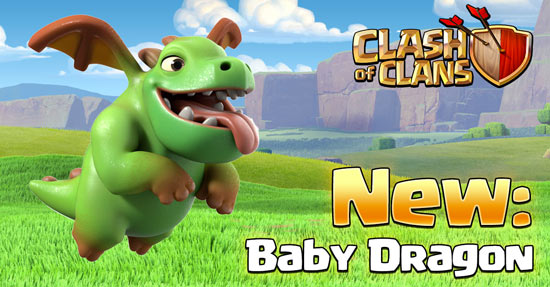 clash-of-clans-baby-dragon