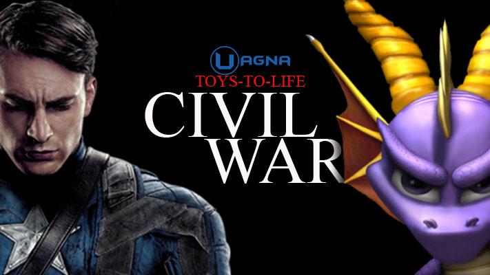 marvel disney infinity spyro skylanders toys to life civil war