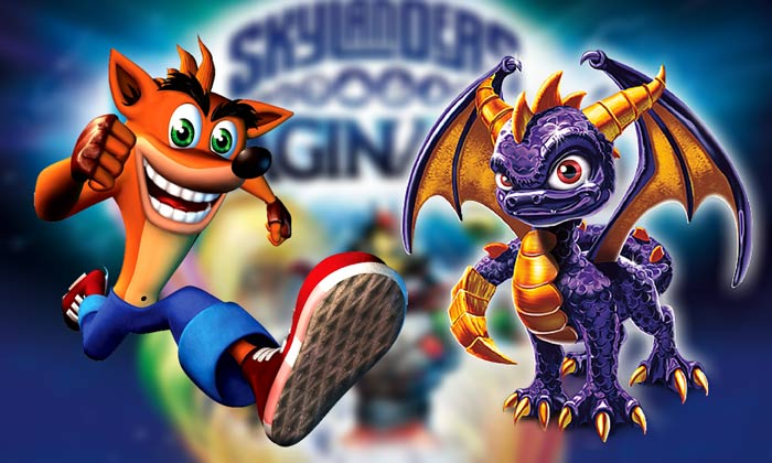 skylanders imaginators crash spyro