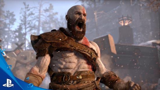 kratos god of war 2016