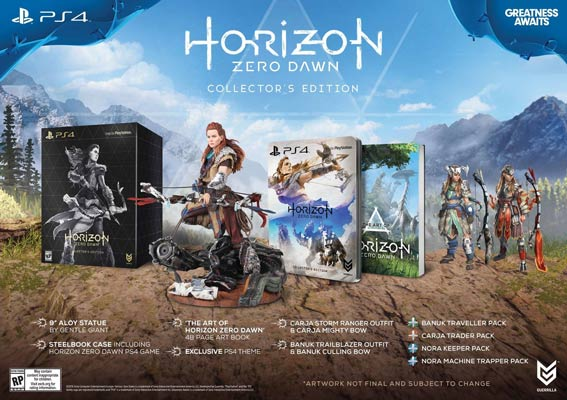 horizon zero dawn collector edition