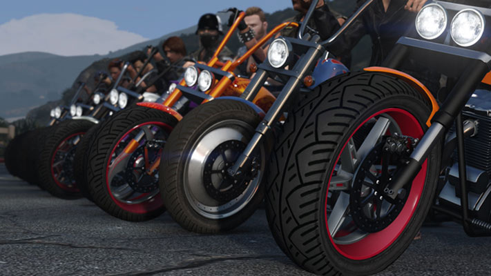 GTA 5 DLC Bikers