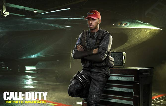 Lewis Hamilton farà una comparsa in Call of Duty: Infinite Warfare