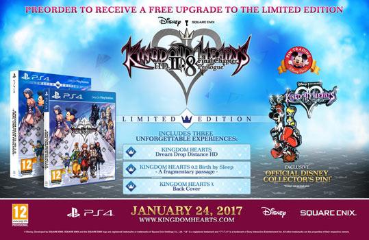 kingdom hearts 2.88 limited edition