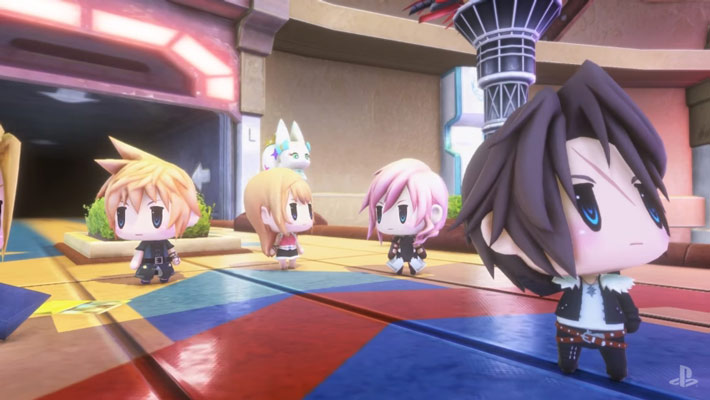 world of final fantasy leon lightning