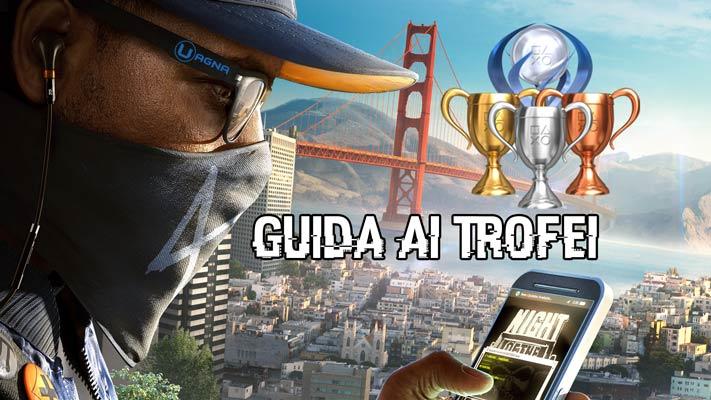 guida trofei watch dogs 2