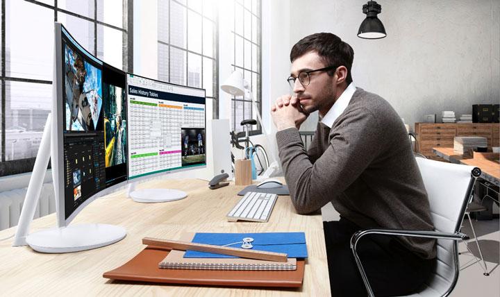 Samsung Monitor Curvo CH711 Gaming