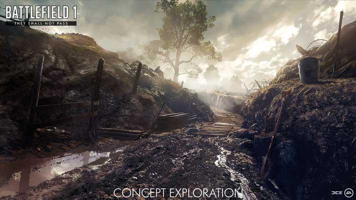 Battlefield 1 The shall not pass