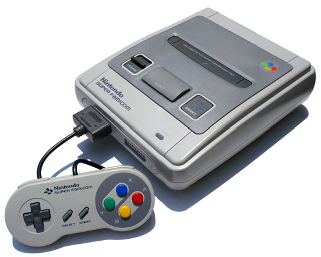 Trademark sull'immagine del controller Super Famicom: versione Mini in arrivo?