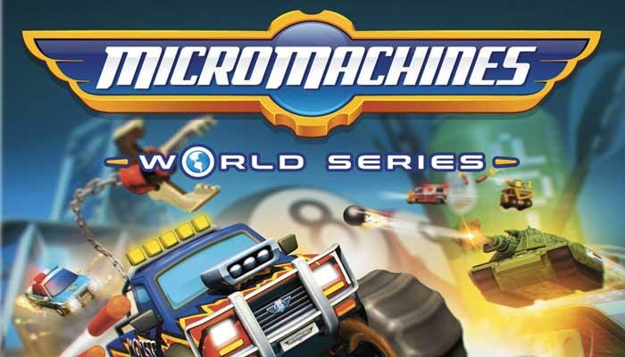 Codemasters ha annunciato ufficialmente Micro Machines World Series