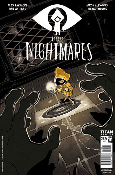 Little Nightmares Copertina Fumetto