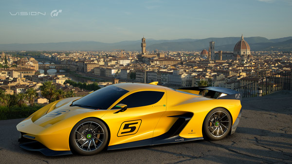 Fittipaldi EF7 VGT Pininfarina Gran Turismo Sport