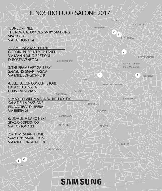 Samsung Milano Design Week 2017