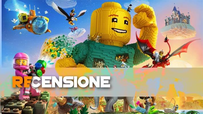 recensione lego worlds