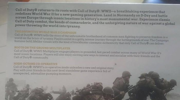 Leak Call of Duty WWII