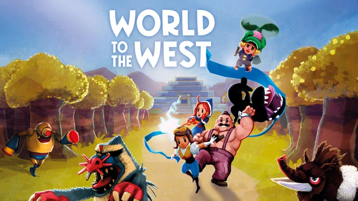 World To The West Copertina