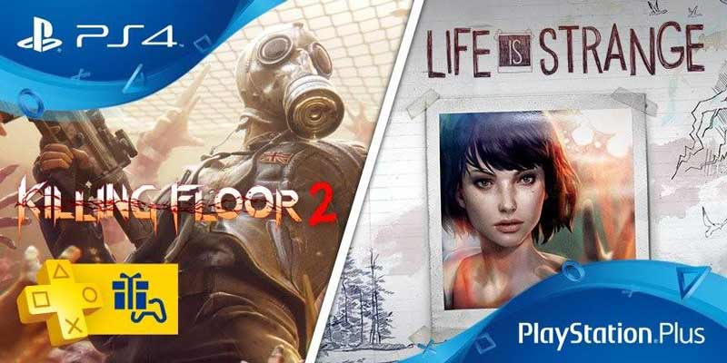 Killing Floor 2 e Life is Strange nel PS Plus di giugno?
