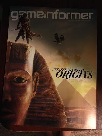 La copertina del nuovo numero di Game Informer.