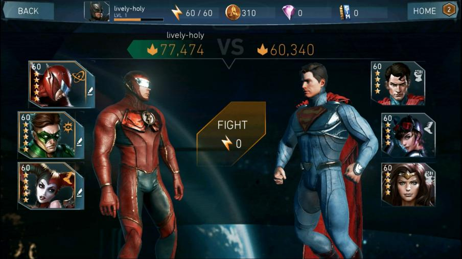 Recensione Injustice 2 mobile