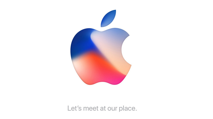 Apple 12 September 2017 Let's Met at our Place