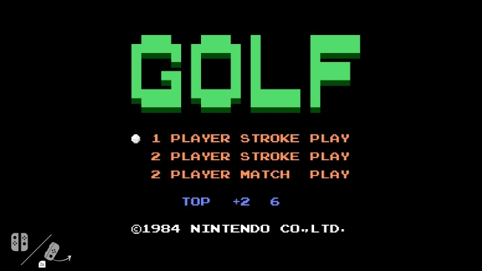 Nintendo Switch nasconde un emulatore di GOLF per NES