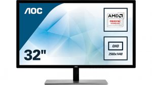 AOC Q3279VWF Monitor