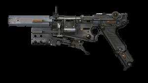 wolfenstein 2 the new colossus pistola