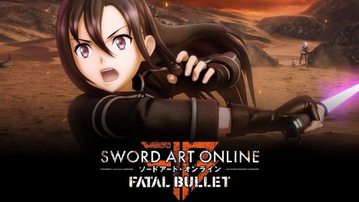 Sword Art Online Fatal Bullet Copertina