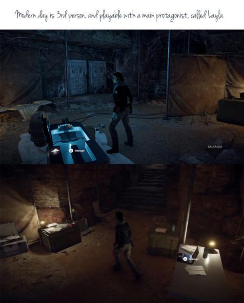 Assassin's Creed Origins, svelato il protagonista della timeline moderna
