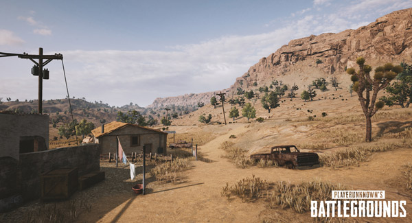 PlayerUnknown's Battlegrounds-PUBG Nuova Mappa Deserto